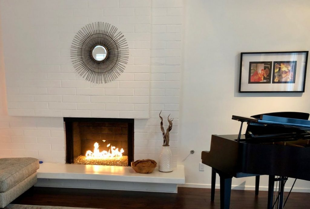 Valley Village Home with Fireplace