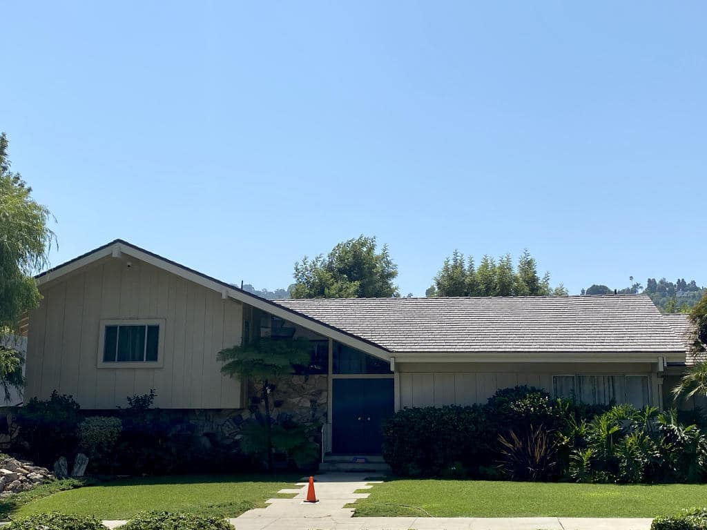 Brady Bunch House Front View