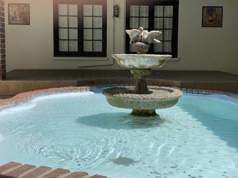 Orcutt Ranch Horticulture Center - Courtyard Fountain