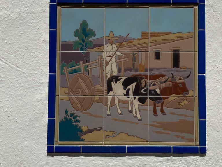 Orcutt Ranch Horticulture Center - Wall Tile Art