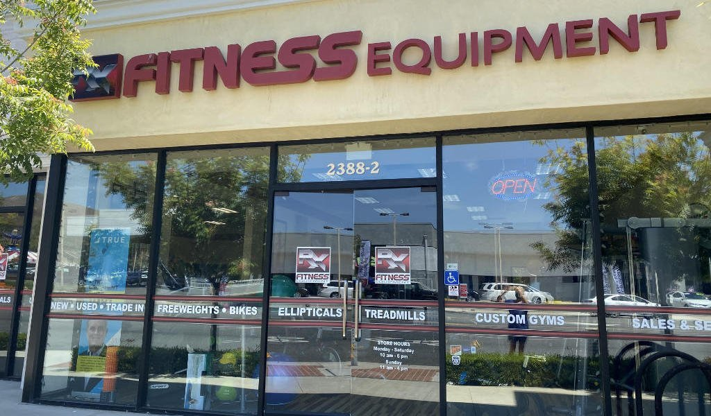RX Fitness Equipment Store Front