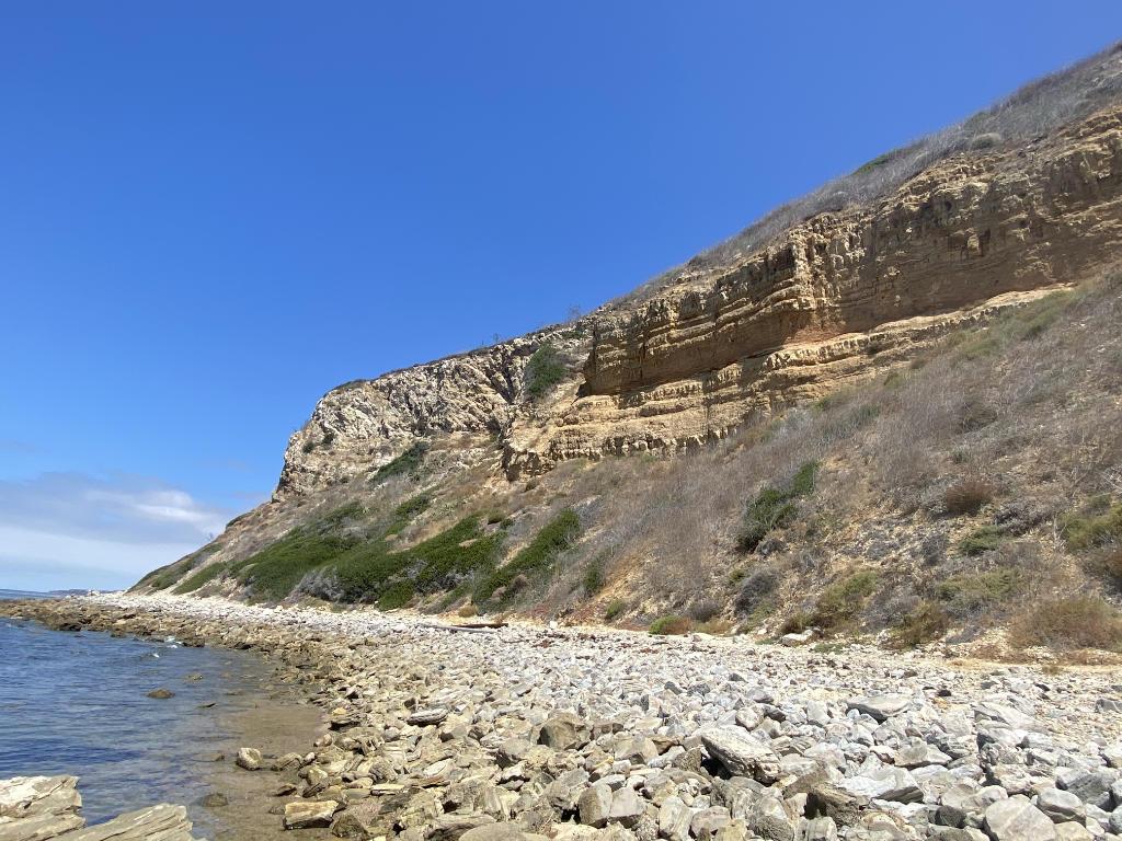 Rancho Palos Verdes Coastal Trail Cliff View