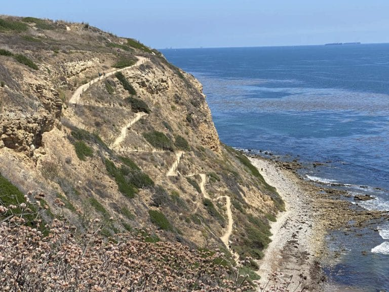 Rancho Palos Verdes Coastal Trail View