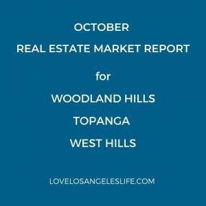 Woodland Hills, Topanga, West Hills RelaEstate Report Cover