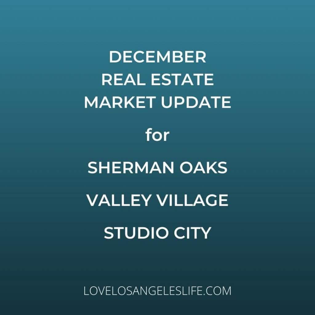 Dec 2020 Real Estate Market Update Graphic