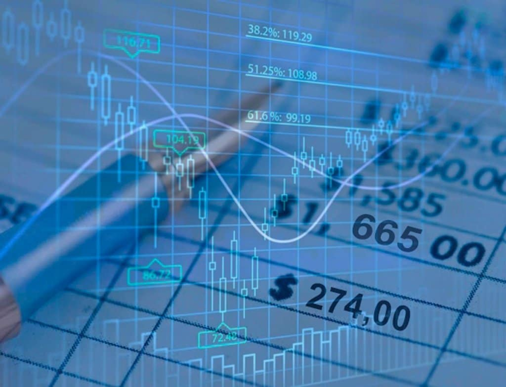 Stockmarket charts and tables