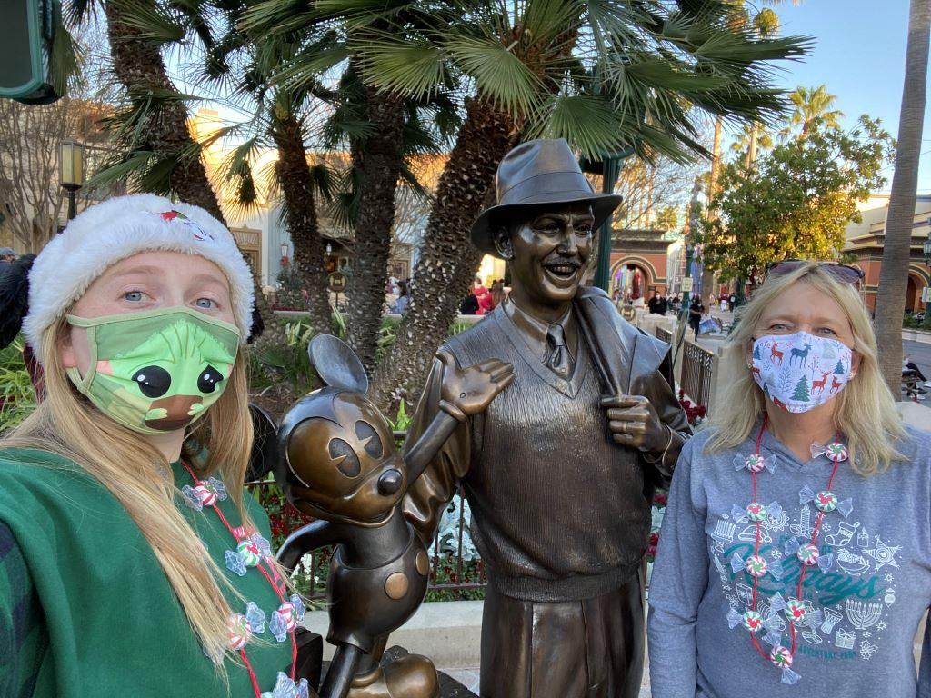 Wende at Disneyland