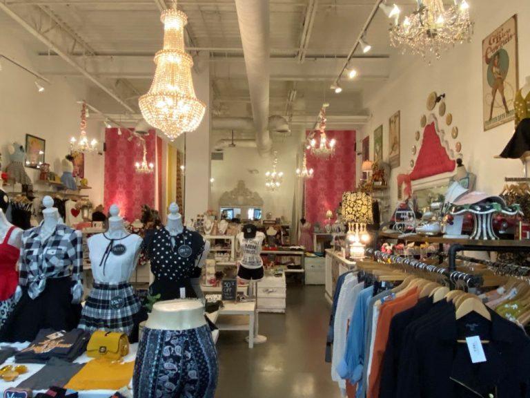 Varga store inside view