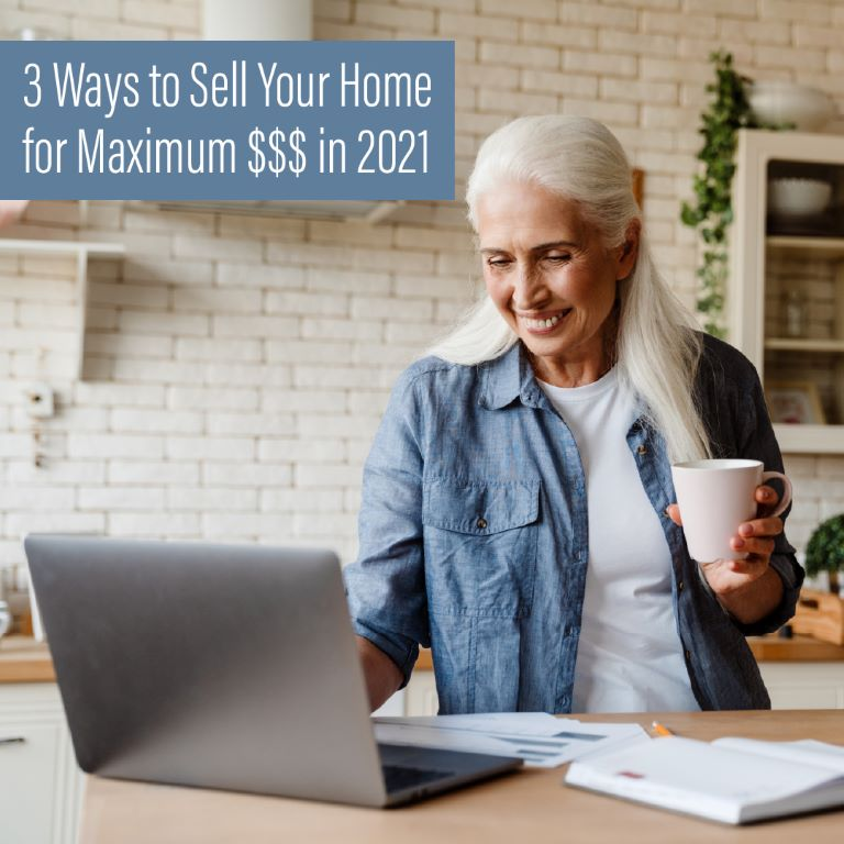 three ways to sell your home