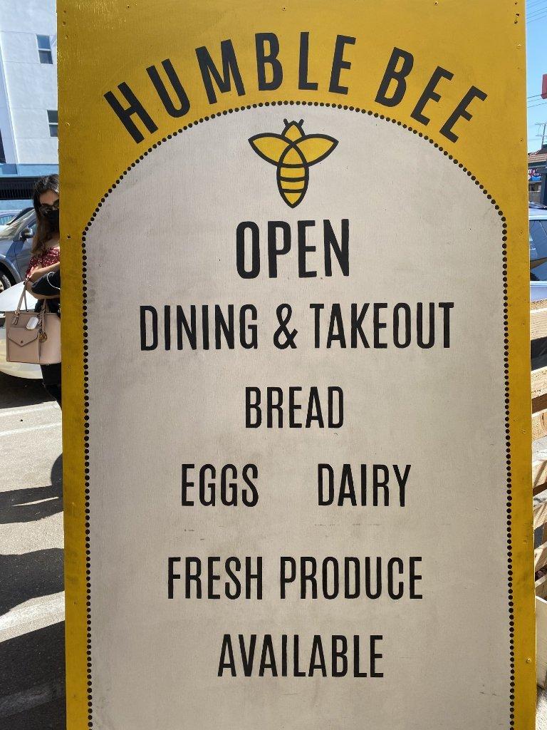 HumbleBeeCafe-Sign