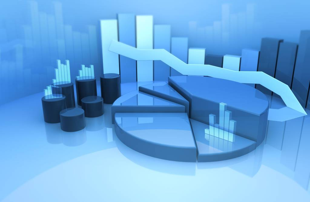 Blue Economic Forecast Graphic