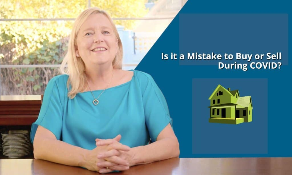 Is it a mistake to sell or buy during covid