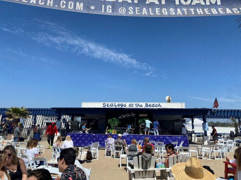 SeaLegs at the Beach concert