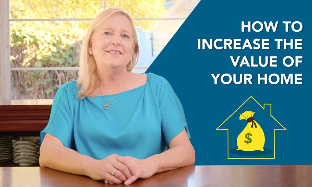 How to increase the value of your home graphic