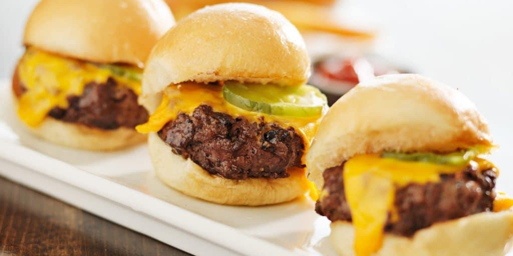 Messy Burger Sliders