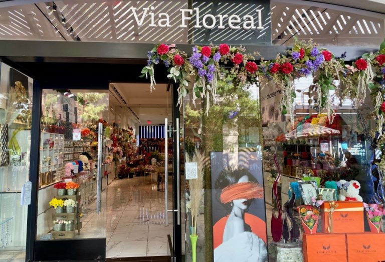 Via Floreal Store Front