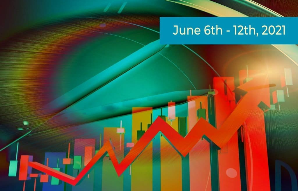Colorful Stock Market Graphic