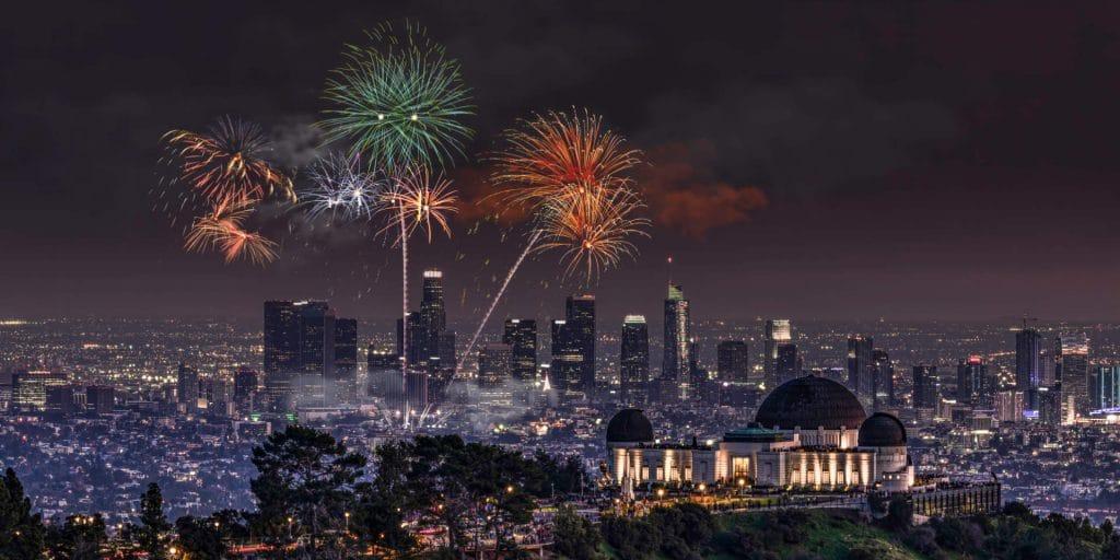 Los Angeles Fireworks