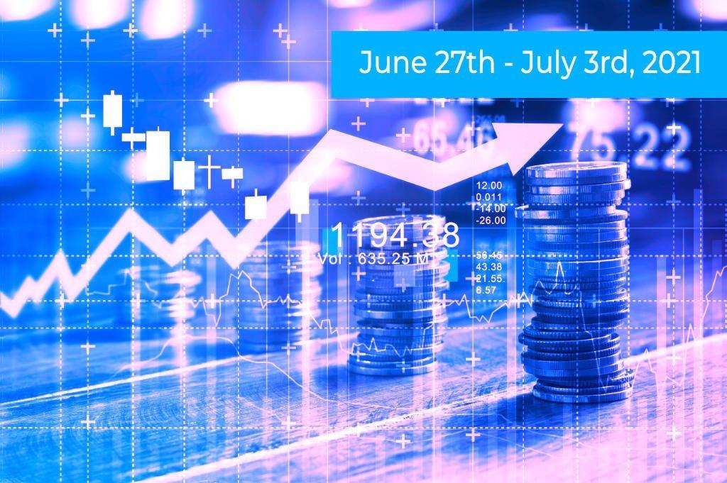 Blue-pink Finance Graph