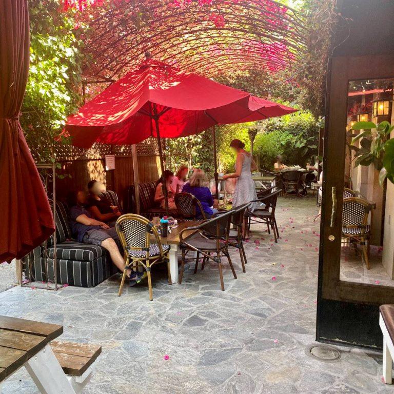 Gaden Cafe Patio