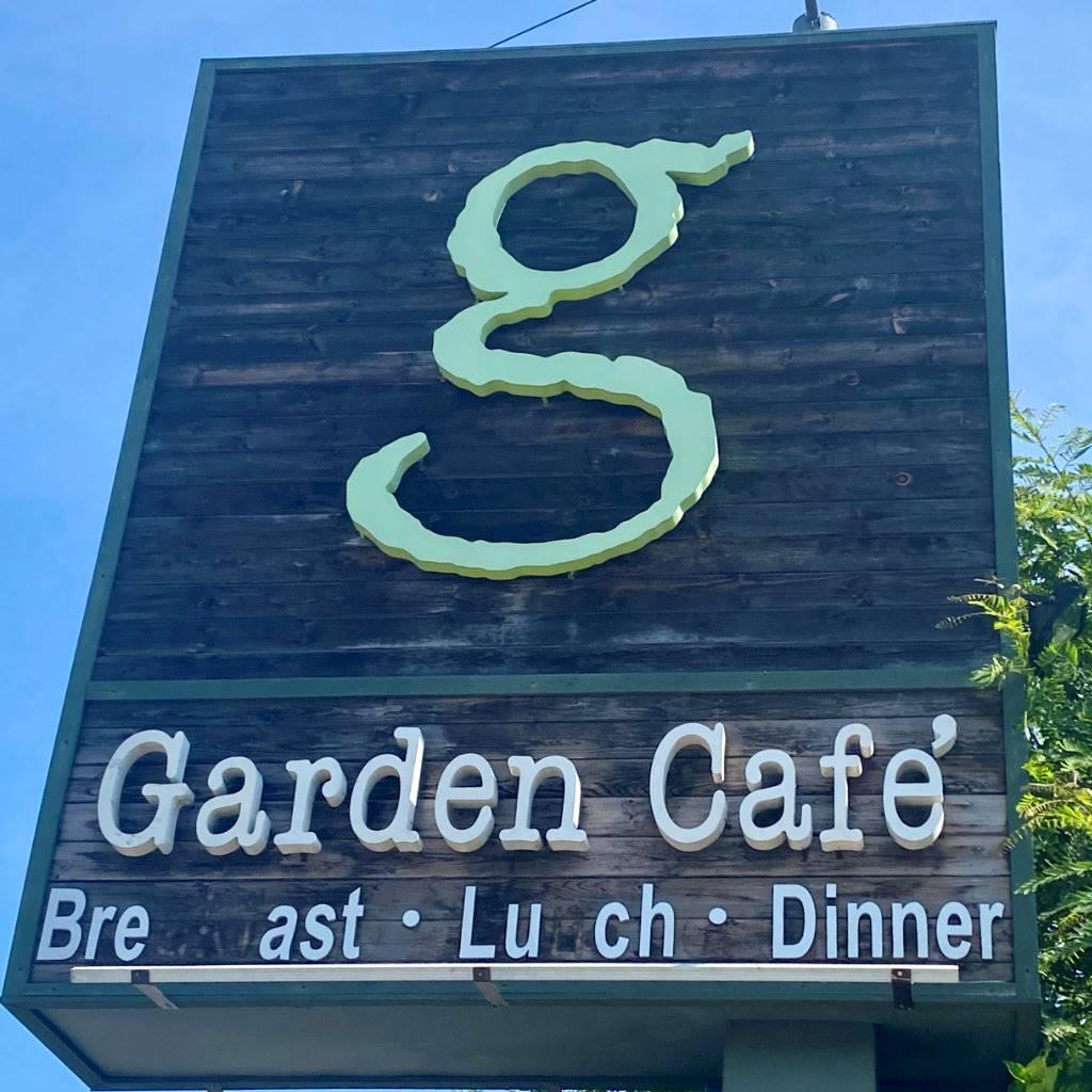 Garden Cafe Sign