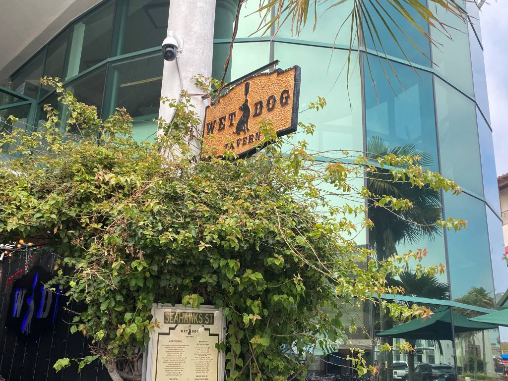 We Dog Tavern Entrance