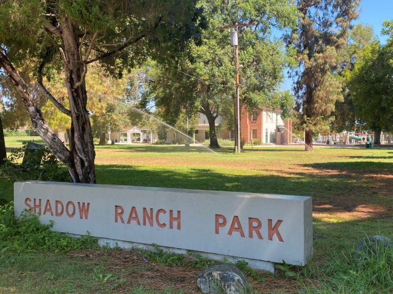 Shadow Ranch Park Sign
