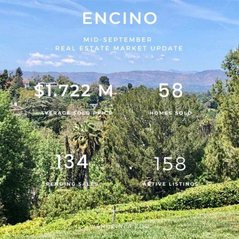 Encino Sep 2020 Real Estate Update