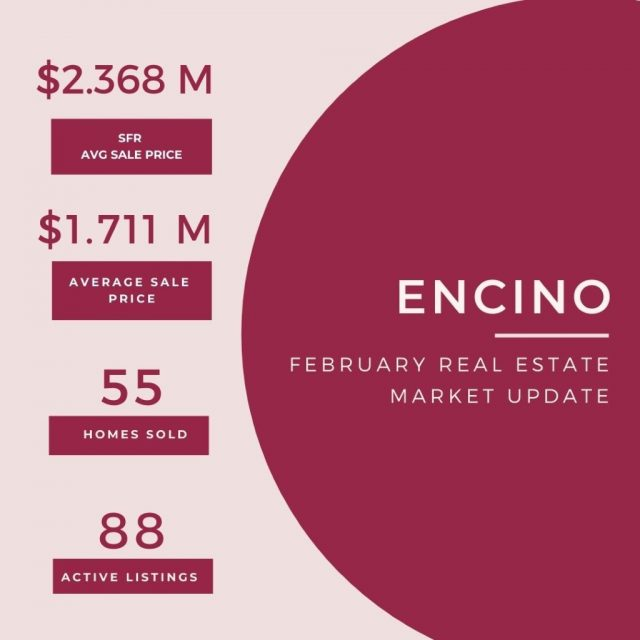 Feb 23 Real Estate update Encino
