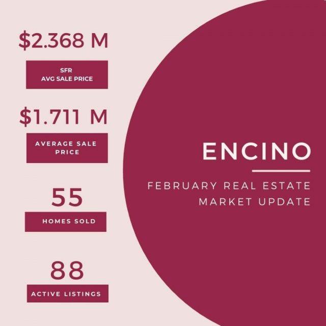 Feb 23 Real Estate update Encino