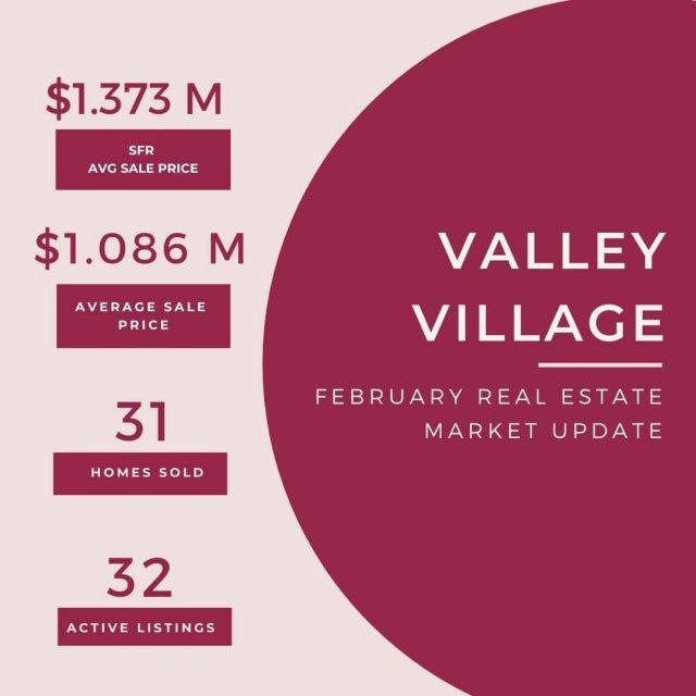Feb 24 Real Estate update - Valley Village