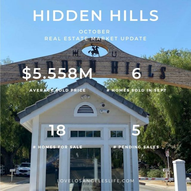 Hidden Hills Nov2020 RE Update