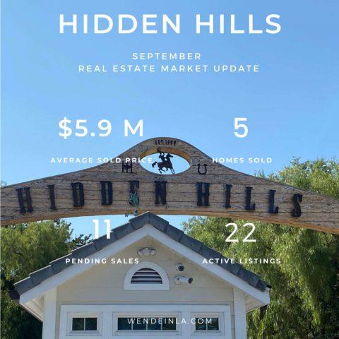 Hidden Hills Sep 2020 Real Estate Update