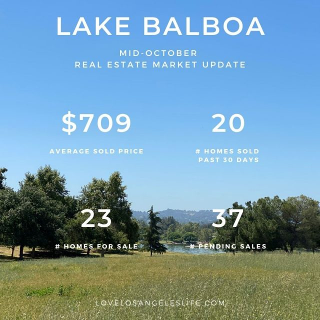 Lake Balboa RE Update