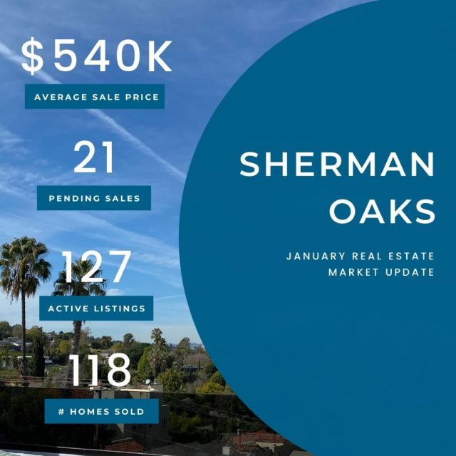 Market Update Sherman Oaks 01262021