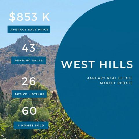 Market Update West Hills 01122021