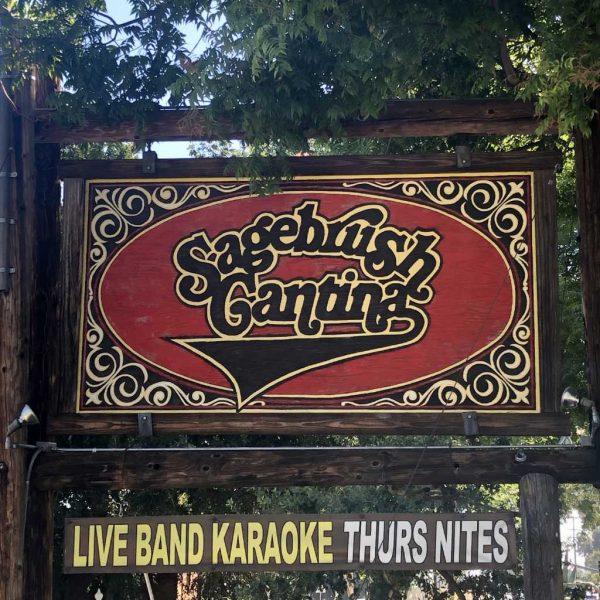 Sagebrush Cantina Sign