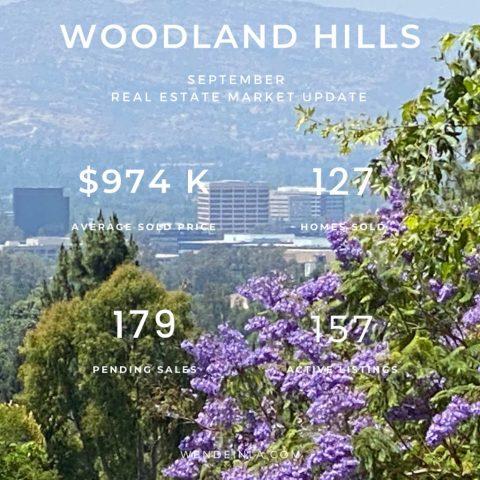 Woodland Hills Sep 2020 Real Estate Update